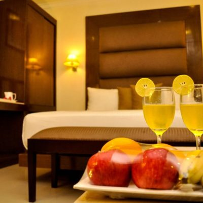 Deluxe Double Bed Hotels Kanyakumari - Hotel The Gopinivas Grand
