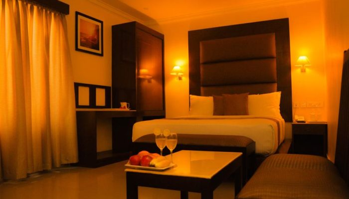 Deluxe Double Bed Kanyakumari Hotels - Hotel The Gopinivas Grand